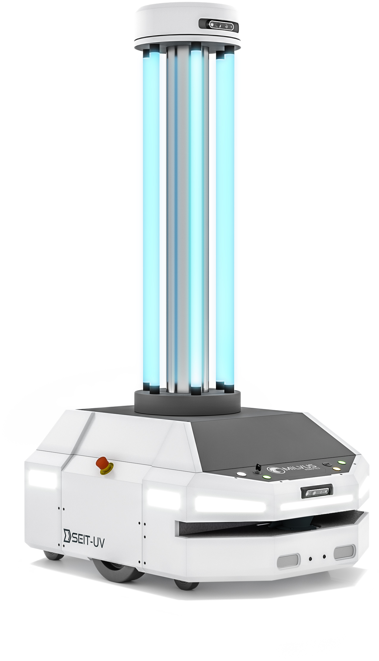 SEIT-UV, an autonomous UVC disinfection robot